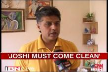 Joshi must come clean on Mishra's allegations: Congress