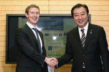 Star-struck Japan PM befriends Mark Zuckerberg