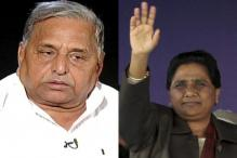 UP: 'Dead man' Mulayam rises as Maya routed out