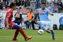 Catania hit back to draw 2-2 at Napoli