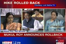 Mamata has her way; Mukul Roy rolls back passenger fare
