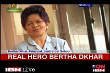 Real Hero Bertha helps the visually impaired