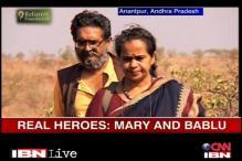 Real Heroes Bablu & Mary transform Anantapur
