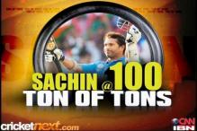 Sachin Tendulkar scores 100th international ton