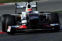 Sauber's Perez fastest on Day 3 of final test