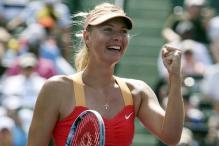 Sharapova beats Wozniacki in Miami