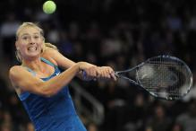Sharapova beats Wozniacki in exhibition match