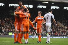 Swansea beat Fulham 3-0 to move eighth in EPL
