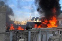 Syrian rebels flee shattered stronghold