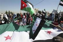 Assad wants foreign powers to stop backing rebels