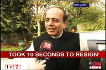 PM wouldn't have let me resign: Trivedi