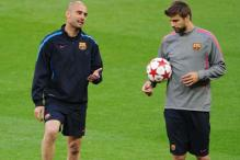 Guardiola, Pique play down reports of rift