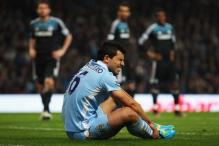 Aguero hoping to be fit before crucial Arsenal tie