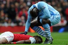Balotelli escapes FA sanction for foul on Song