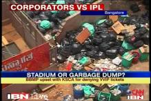 Denied IPL tickets, BBMP refuses to clean stadium