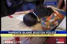 Odisha: Last rites of Indian killed in US held