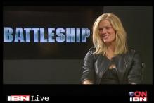 Brooklyn Decker talks about her movie 'Battleship'