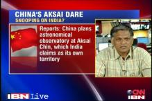 China dares India, plans observatory in Aksai Chin