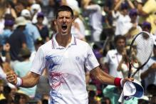Djokovic trumps Murray, wins at Key Biscayne