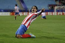 Atletico, Sporting win first leg of Europa semis