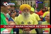 Oldest marathoner Fauja Singh hangs up his boots