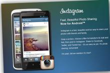 Photo app Instagram launches on Android phones