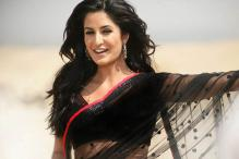 Katrina turns Cinderella for a TV commercial