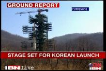 Stage set for North Korea's rocket launch