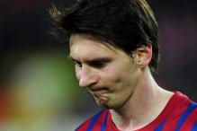 Messi tastes rare failure at crucial phase