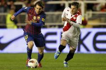 Barcelona bounce back with 7-0 thrashing of Rayo