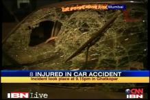 Mumbai: Novice driver rams car, injures 8