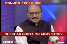 Army units movement story based on facts: Shekhar Gupta