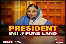Pune land row: 'President was misled by her staff'