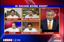Is Sachin being used as a political pawn by Cong?