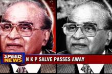 Former BCCI boss NKP Salve dies at 90