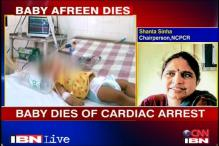 Baby Afreen's death a murder: Child rights panel