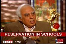 No extra burden on parents: Sibal on school quota