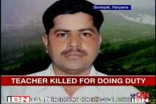 The accused had threatened my son: Sonepat teacher's father