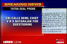 Tatra deal: CBI calls BEML chief for questioning