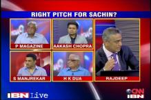 Is Rajya Sabha the right pitch for Sachin Tendulkar?