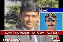 Chhattisgarh District Collector is safe: CRPF