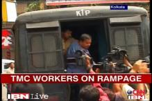 WB: TMC workers heckle Human rights activists