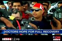 Watch: Yuvraj defies cancer to return home