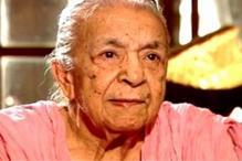 Actress Zohra Sehgal turns 100