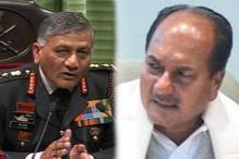 Examine Tejinder's plea against Gen Singh: Antony