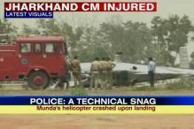 Jharkhand CM Munda survives helicopter crash