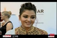 Aishwarya talks about baby Aaradhya at Cannes 2012