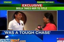 Bisla ecstatic after leading KKR to IPL title
