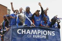 Champions Chelsea parade first Champions League