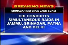Srinagar defence land scam: CBI conducts raids